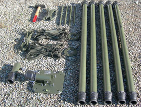 Fiberglass Mast For Dipole And Broad Band Antennas